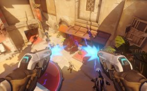 In game 1 overwatch