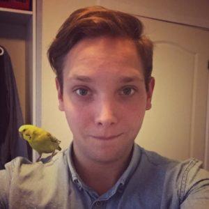"Den danske Hearthstonespiller Frederik ""Hoej"" Nielsen. Foto: Twitter"