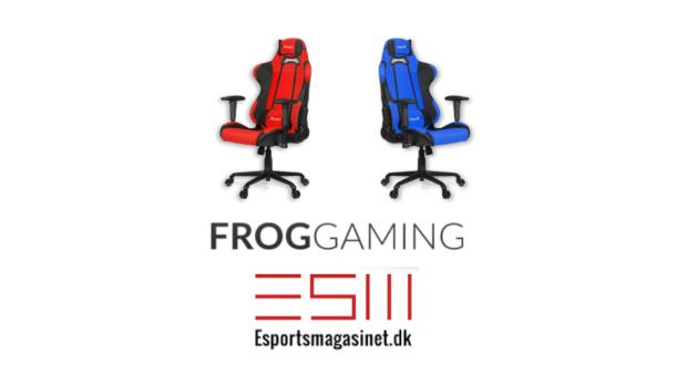 Konkurrence Vind En Gamerstol Fra Froggaming Esportsmagasinetdk