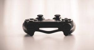 controller, video game, ps4, console