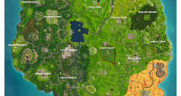Nu er det nye Fortnite-map her: Kæmpe ørken fjerner Moisty ...